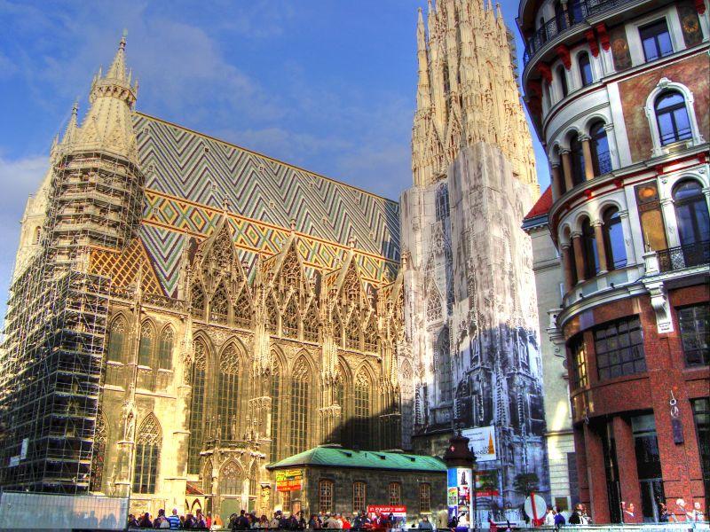 aziz stefan katedrali viyana