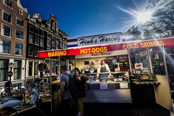 amsterdam sokak yemekleri