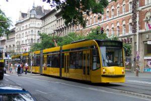 budapeste tramvay