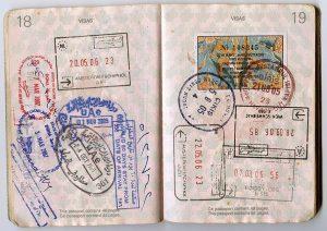 pasaport damga