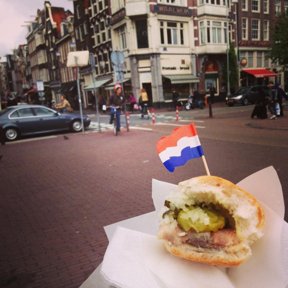 Amsterdam'da Ne Yenir?