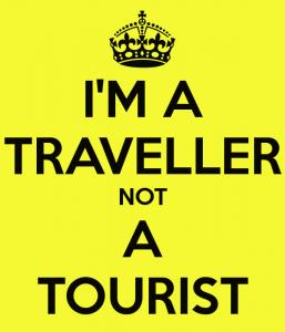 turist değilim