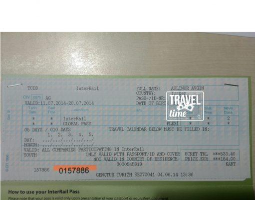 interrail bilet