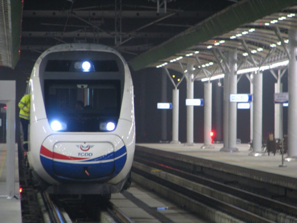 eskişehir tren