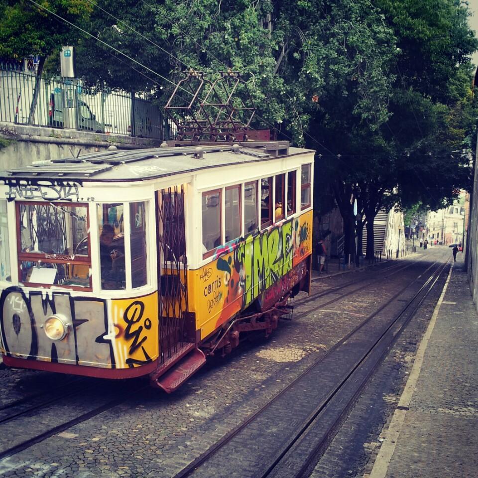 lizbon tramvay