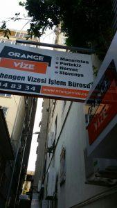 orange vize