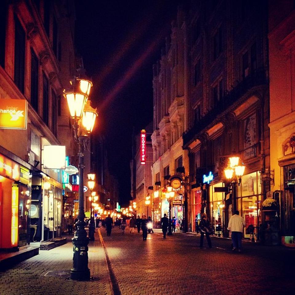Vaci Caddesi (Vaci utca), Budapeşte