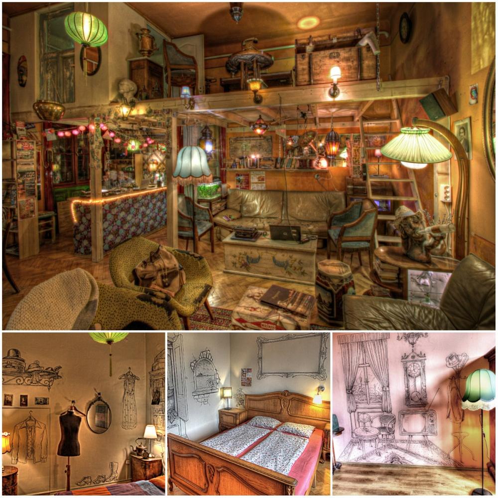 lavender circus hostel budapeşte