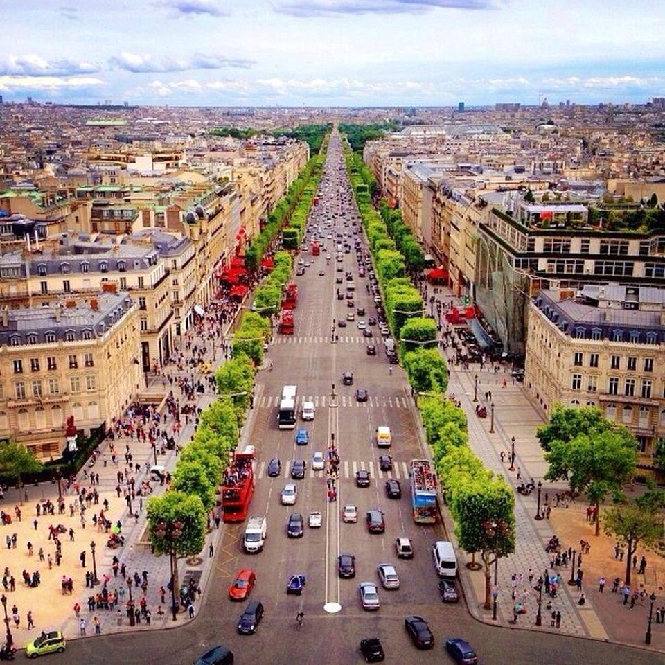 Şanzelize Caddesi (Champs-Elysees)