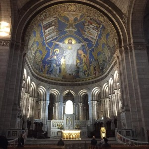 sante couer kilisesinin içi