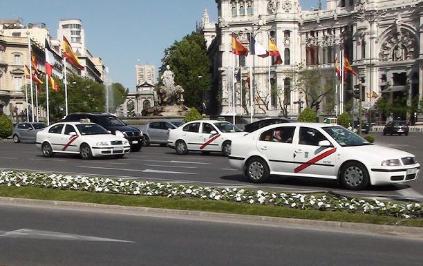 Madrid taksi