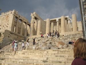 akropolis giris