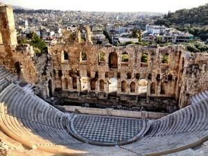 antik tiyatro atina