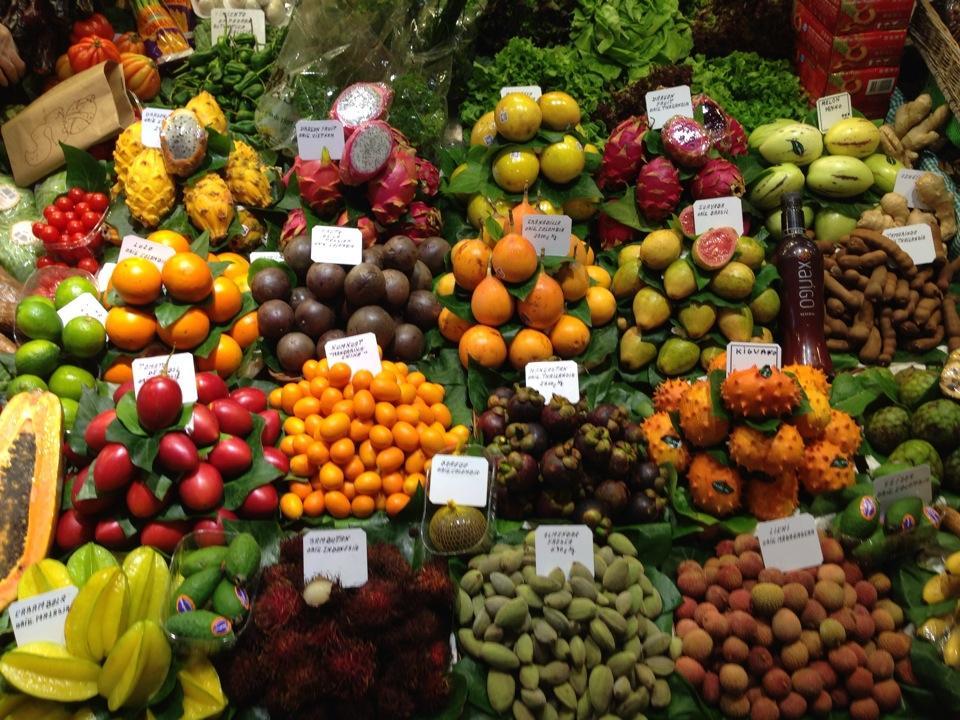 barselona pazar yeri