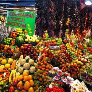 barselona tropik meyveler