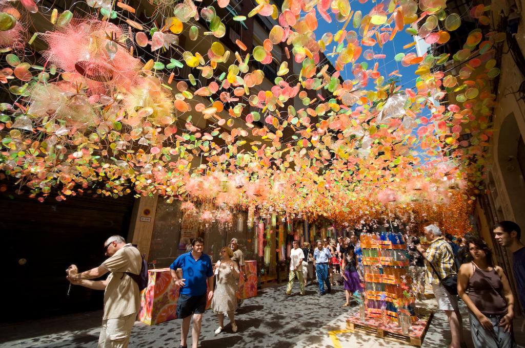 barselona sokak festivalleri