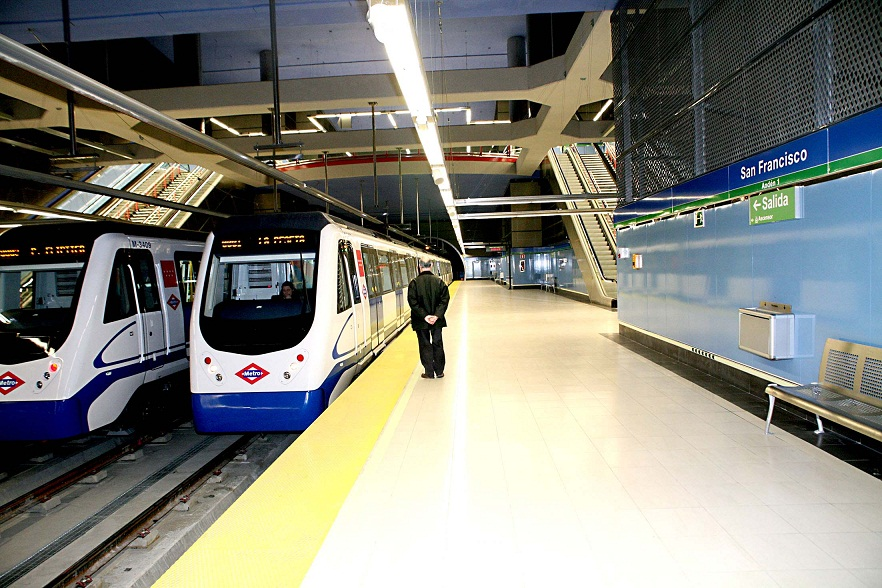 madrid metro istasyonlari