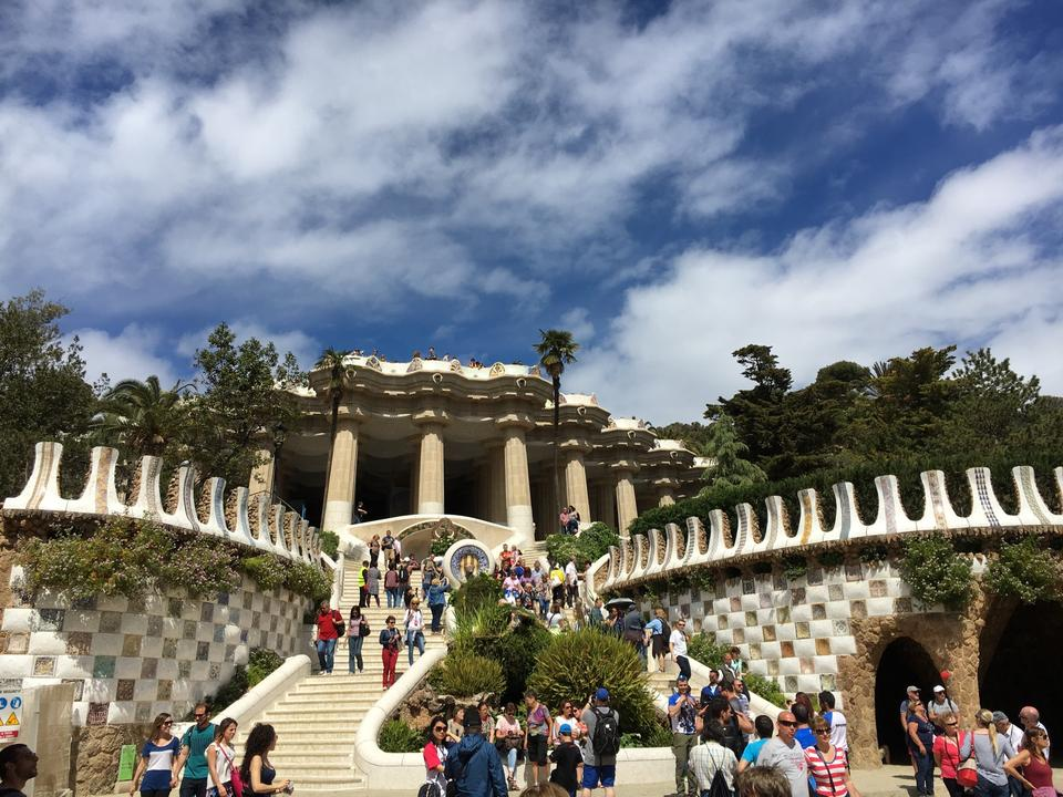 park guell barselona