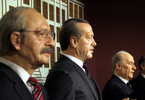 siyasi liderler balmumu heykelleri