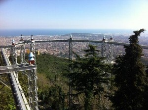 tibidabo skywalk