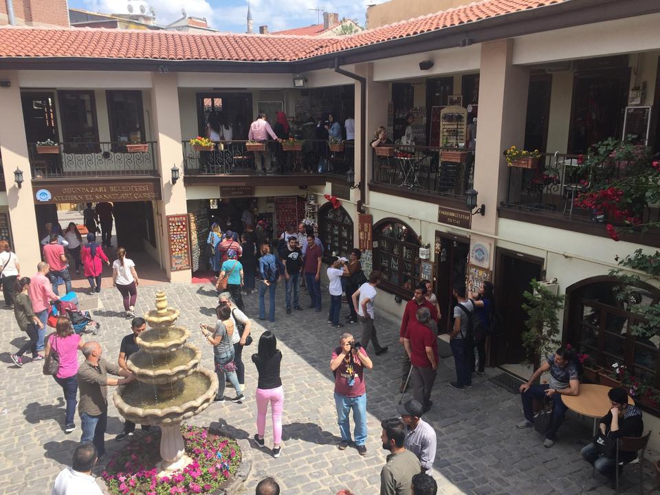 Atlıhan El Sanatları Çarşısı, Eskişehir