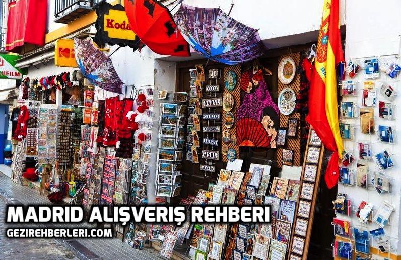 Madrid'den Ne Alınır? Alışveriş Rehberi