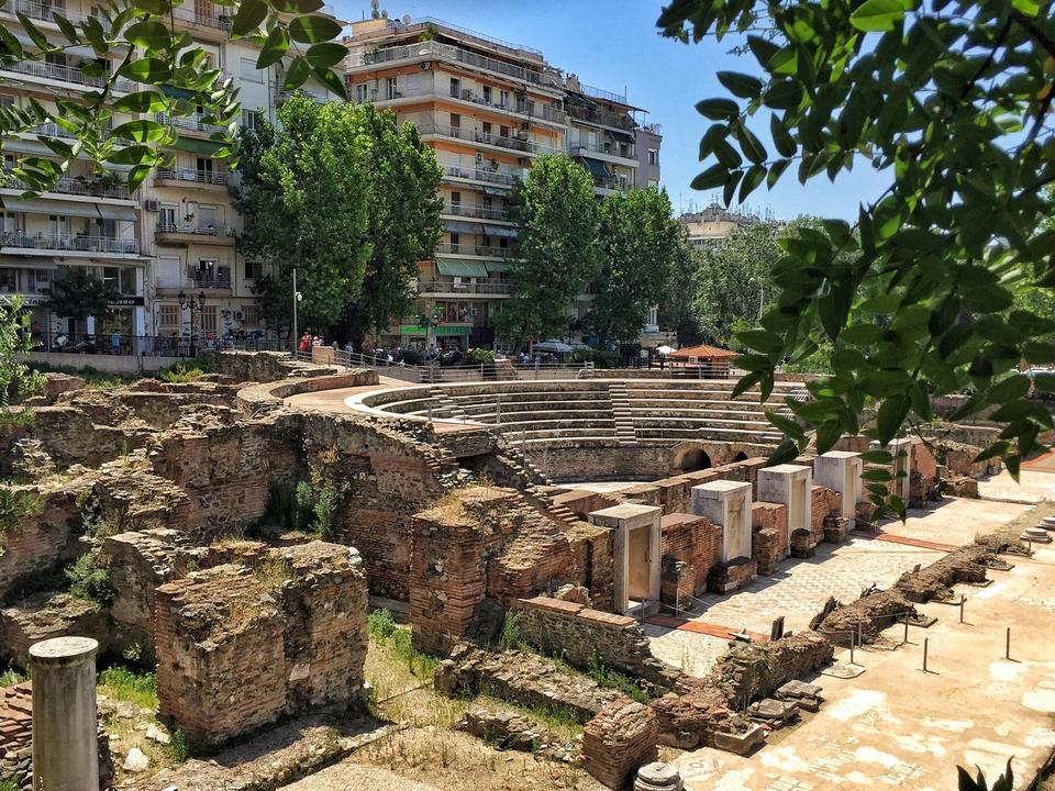 roman forum selanik