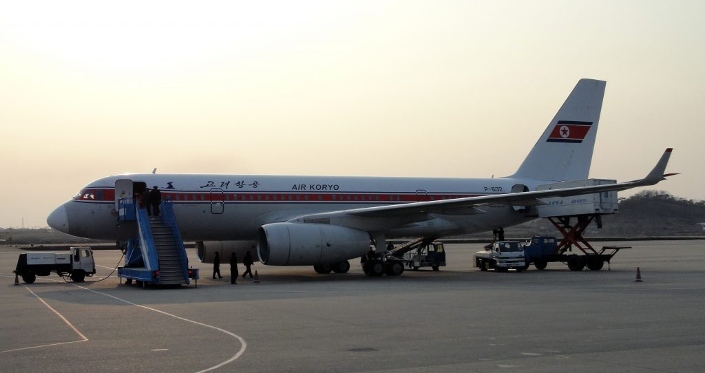 Air_Koryo_Jet_at_Pyongyang