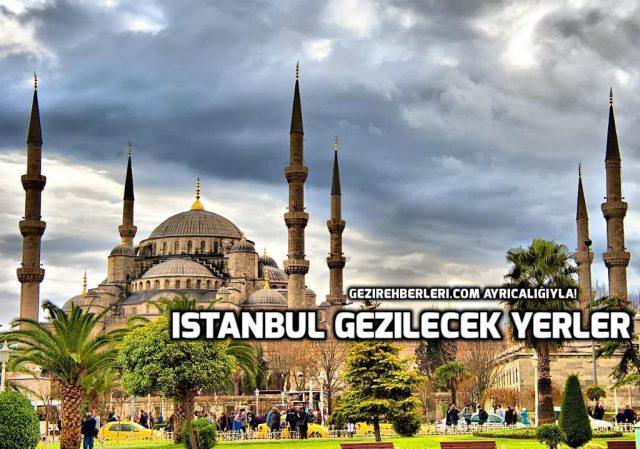 istanbul gezilecek yerler