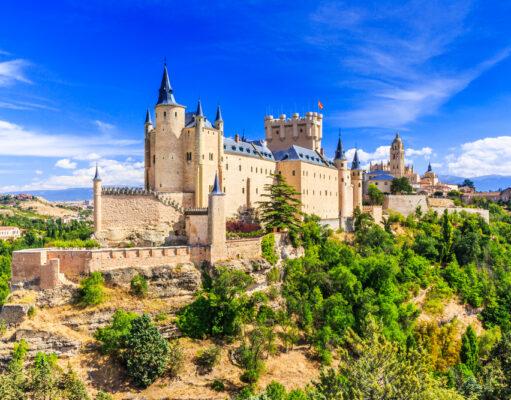 Alcazar Kalesi İspanya