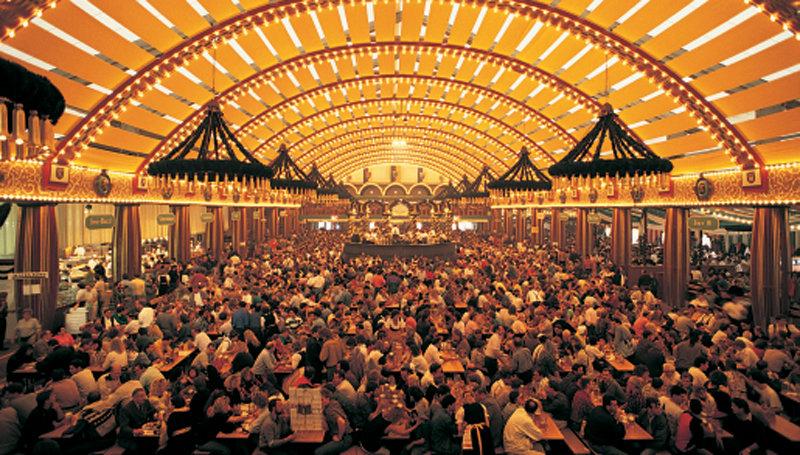 Oktoberfest Çadır Seçimi
