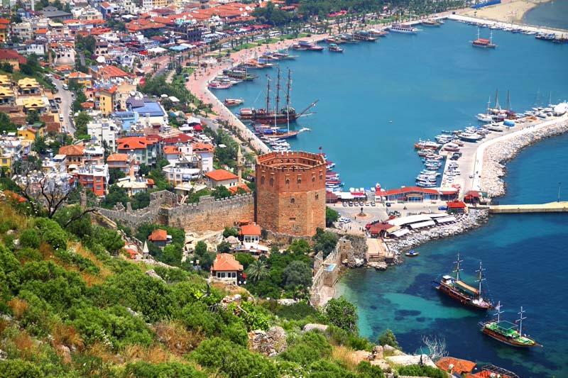 Antalya Gezilecek Yerler (Resimler & Bilgiler)