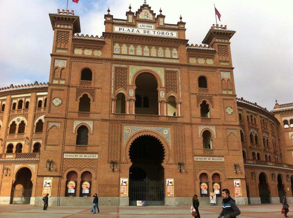 Plaza de Toros – Las Ventas (Boğa Güreşi Arenası)