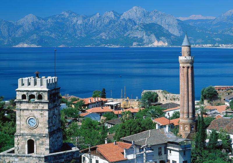 yivli minare antalya