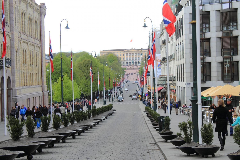 karl-johans-gate-caddesi