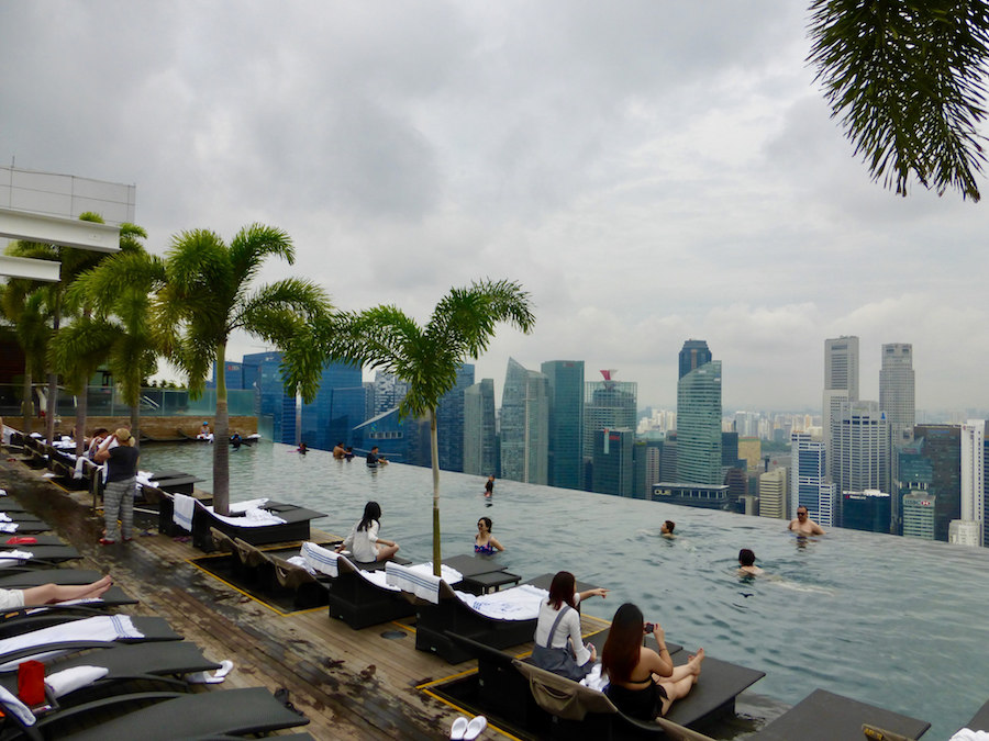 Infiniy Pool, Marina Bay Sands Hotel