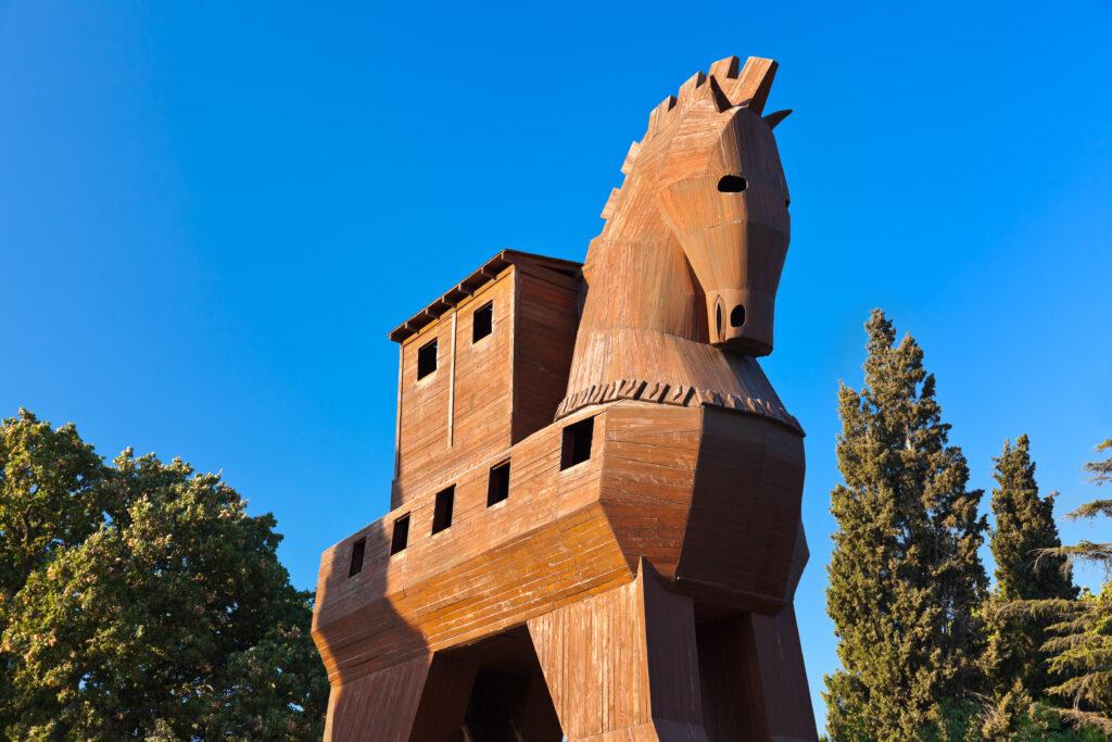 Truva Antik Kenti ve Truva Atı