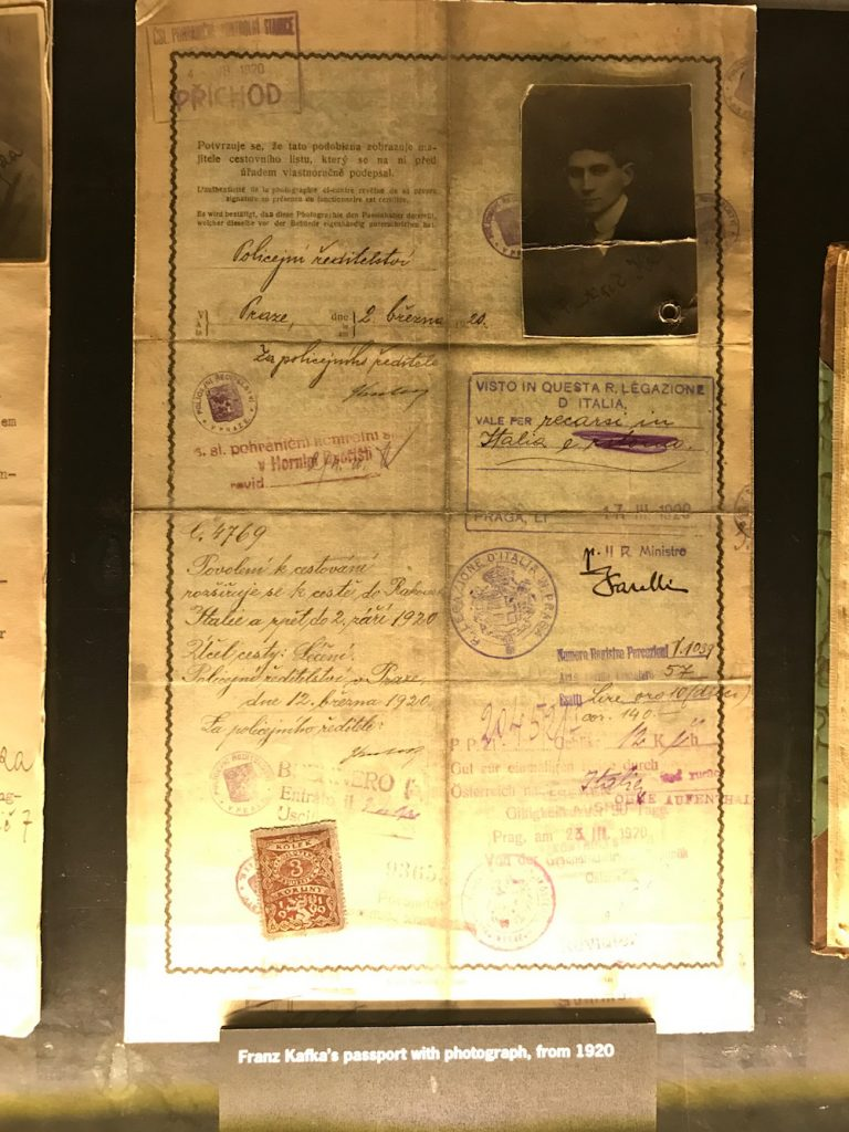franz kafka pasaportu