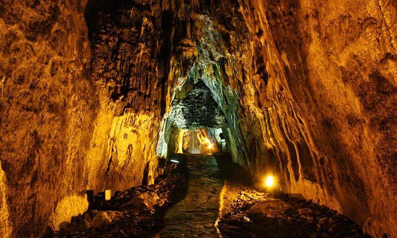 inaltı mağarası