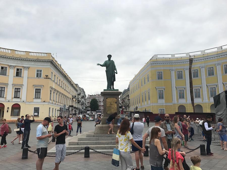 odessa duke anıtı