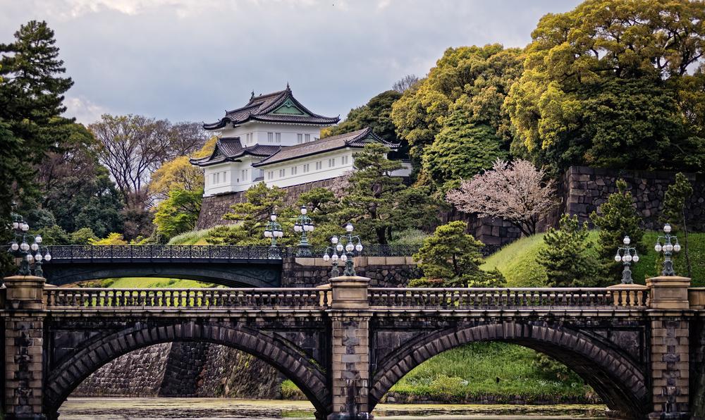 İmparatorluk Sarayı ve Doğu Bahçesi Tokyo
