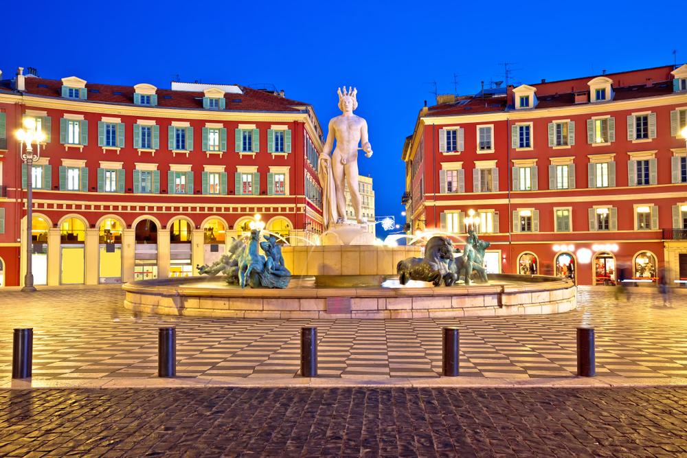 Massena Meydanı Nice Fransa