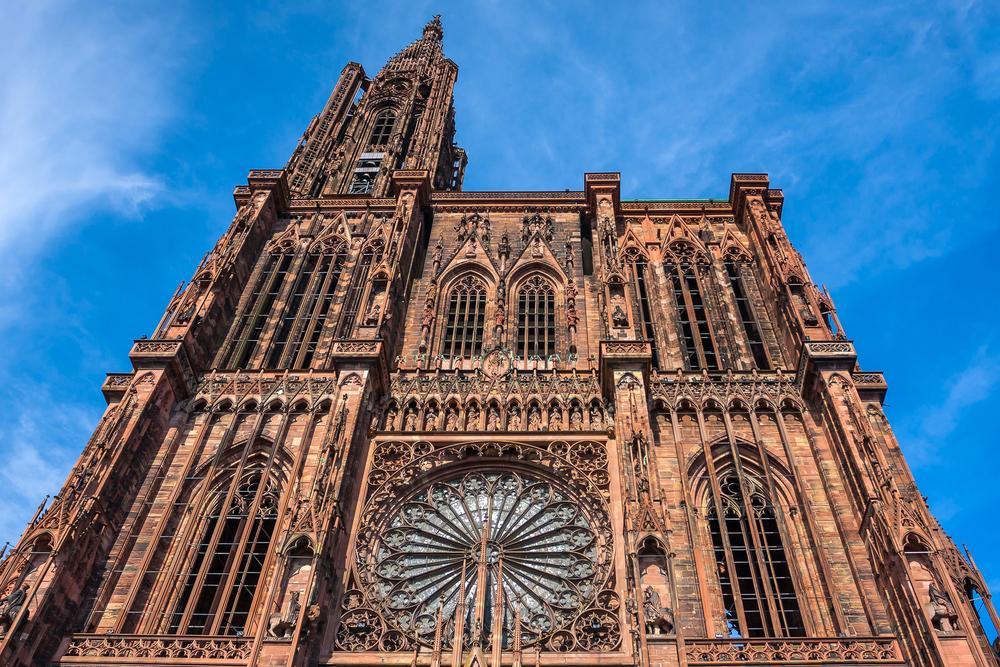 Notre Dame de Strasbourg in Alsace, France
