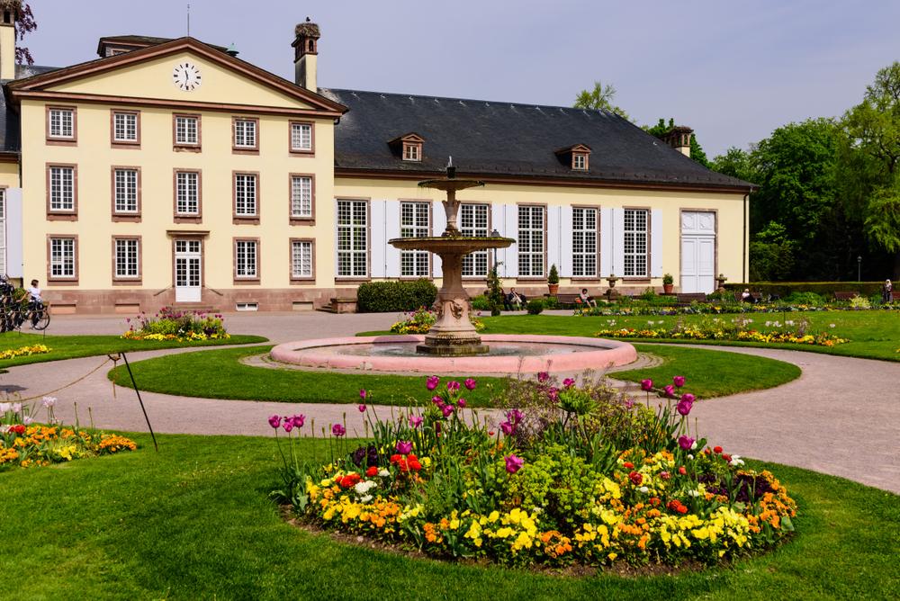 Parc de l'Orangerie Strazburg