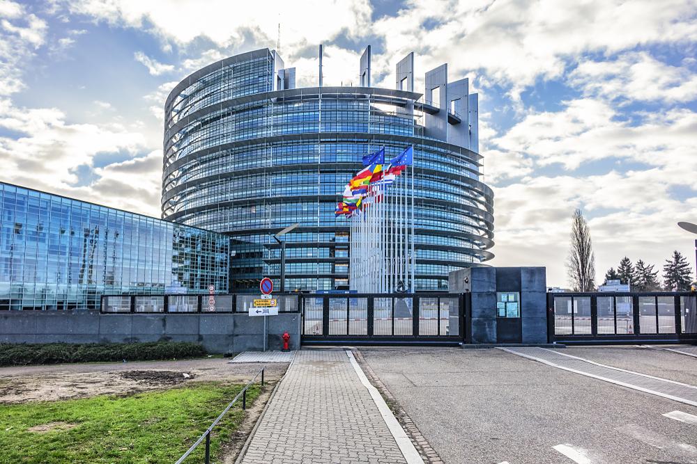 Strazburg Parlamento