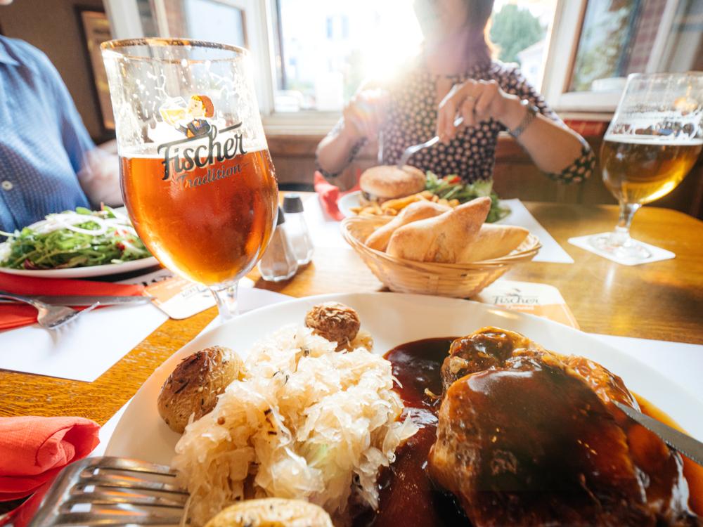Strazburg yemek