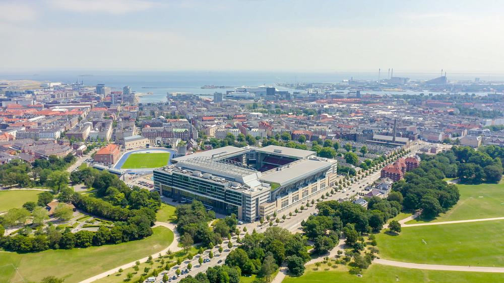 Parken Stadyumu Danimarka