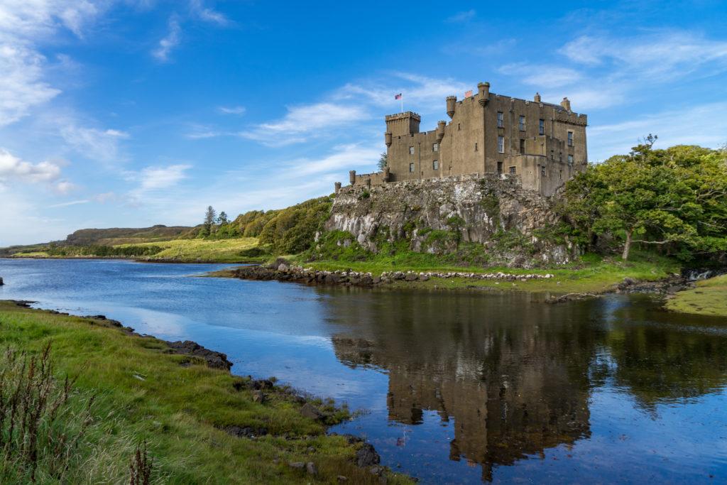 Dunvegan Kalesi Skye Adası İskoçya
