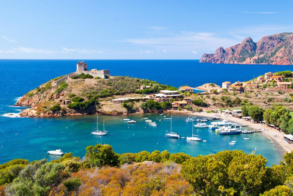 Girolata Körfezi Korsika